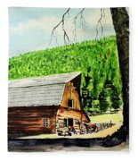 That Barn From That Movie Fleece Blanket