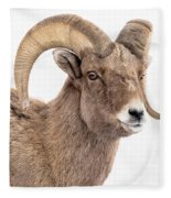 That Handsome Ram Fleece Blanket