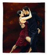 That Tango Moment Fleece Blanket