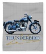 The 52 Thunderbird Fleece Blanket
