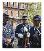 The 54th Regiment Bos2015_185 Fleece Blanket