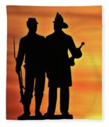 The 73rd New York Fleece Blanket