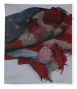 The 9 11 W T C Fallen Heros American Flag Fleece Blanket