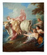 The Abduction Of Europa Fleece Blanket