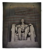 The Abraham Lincoln Memorial Fleece Blanket