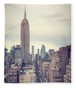 The Age Of The Empire Fleece Blanket