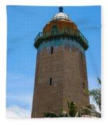 The Alhambra Water Tower Fleece Blanket