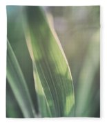 The Allotment Project - Sweetcorn Leaves Fleece Blanket