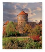 The Alte Burg Fleece Blanket