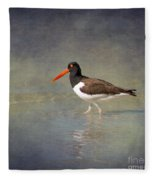 The American Pied Oystercatcher By Darrell Hutto Fleece Blanket
