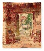The Antiquarian's Shop Fleece Blanket