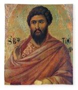 The Apostle Bartholomew 1311 Fleece Blanket