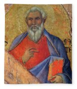 The Apostle Matthew 1311 Fleece Blanket