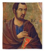 The Apostle Thaddeus 1311 Fleece Blanket