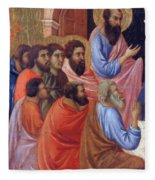 The Apostles Of Maria Fragment 1311 Fleece Blanket