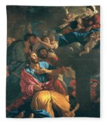 The Apparition Of The Virgin The St James The Great Fleece Blanket