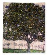 The Apple Tree II Fleece Blanket