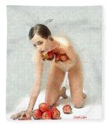 The Apples Keeper Fleece Blanket