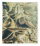The Aquatic Abstraction Fleece Blanket