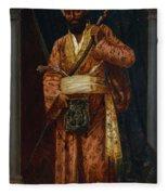 The Arab Guard Fleece Blanket