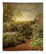 The Arbor Fleece Blanket