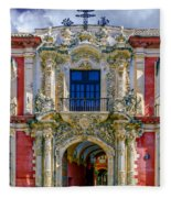 The Archbishop's Palace Of Seville Fleece Blanket