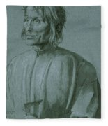 The Architect Hieronymus Von Augsburg Fleece Blanket