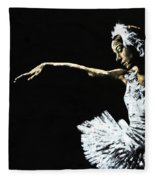 The Art Of Grace Fleece Blanket