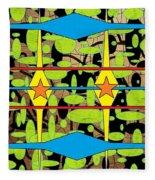 The Arts Of Textile Designs #3 Fleece Blanket