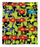 The Arts Of Textile Designs #42 Fleece Blanket