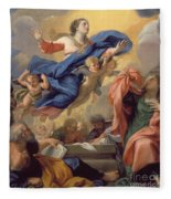 The Assumption Of The Virgin Fleece Blanket