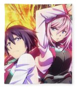 The Asterisk War The Academy City On The Water Fleece Blanket