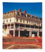 The Atlantic House Inn - York Beach, Maine Fleece Blanket