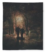 The Autumn Of Our Years Fleece Blanket