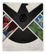The Avengers Fleece Blanket