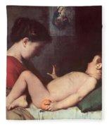 The Awakening Child Fleece Blanket