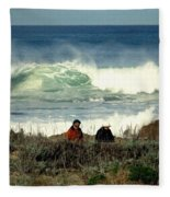 The Awesome Pacific In All Her Glory Fleece Blanket