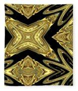 The Aztec Golden Treasures Fleece Blanket