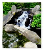 The Babbling Brook Fleece Blanket