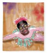 The Ballerina Fleece Blanket