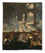 The Ballet Scene From Meyerbeer's Opera Robert Le Diable Fleece Blanket