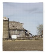 The Barn's Last Season Fleece Blanket