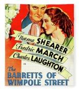 The Barretts Of Wimpole Street Fleece Blanket