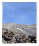 The Base Of Mt St Helens  Fleece Blanket