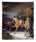 The Battle Of Hohenlinden Fleece Blanket