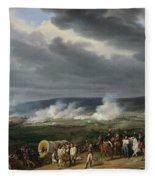 The Battle Of Jemappes Fleece Blanket