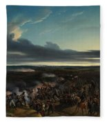 The Battle Of Montmirail Fleece Blanket