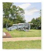 The Battle Of Yorktown Virginia Fleece Blanket