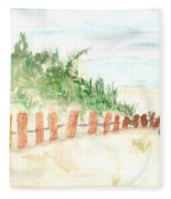 The Beach Fleece Blanket