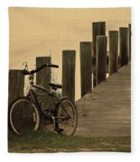 The Beach Comber Fleece Blanket